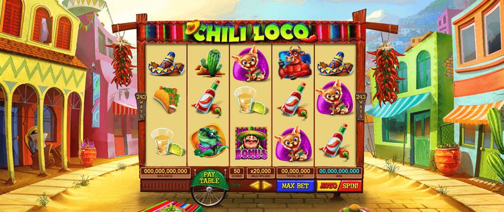 CHILI LOCO เกมสล็อต